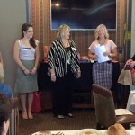New Members presented to the group by President Danielle Wallace and Co-VP of Membership Nancy Miller.  Welcome!